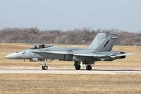 163494 @ NFW - NSWAC F/A-18 at NASJRB Fort Worth - by Zane Adams