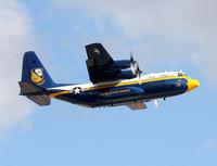 164763 @ NFW - Blue Angle 9 departing NASJRB on a maintenance flight. - by Zane Adams