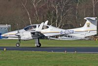 G-CTCD @ EGHH - CTC Aviation - by Howard J Curtis