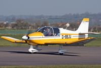 G-BBJU @ EGHS - At the PFA fly-in. Privately owned. - by Howard J Curtis