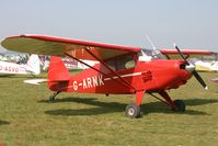 G-ARNK @ EGHS - At the PFA fly-in. Privately owned. Tailwheel conversion. - by Howard J Curtis