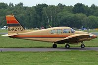 G-AZYU @ EGHH - Privately owned. - by Howard J Curtis