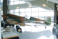 N293FR - Curtiss P-40K Kittyhawk at the Evergreen Aviation & Space Museum, McMinnville OR
