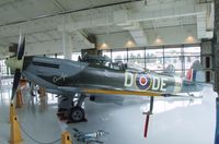 N356TE - Supermarine Spitfire Mk XVI at the Evergreen Aviation & Space Museum, McMinnville OR