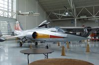 N104PJ - Lockheed F-104G Starfighter at the Evergreen Aviation & Space Museum, McMinnville OR