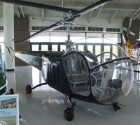 124564 - Bell HTL-3 Sioux at the Evergreen Aviation & Space Museum, McMinnville OR - by Ingo Warnecke