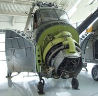 N55233 - Sikorsky UH-19B Chickasaw at the Evergreen Aviation & Space Museum, McMinnville OR