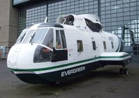N61EV - Sikorsky S-61R (CH-3E) at the Evergreen Aviation & Space Museum, McMinnville OR