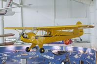 N46471 - Piper J3L-65 Cub at the Evergreen Aviation & Space Museum, McMinnville OR