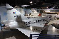 56-1151 @ WRB - F-102A Delta Dagger - by Florida Metal