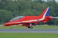 XX294 @ EGHH - Red Arrows, landing nosewheel first ... - by Howard J Curtis