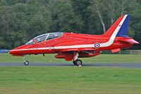 XX306 @ EGHH - Red Arrows. - by Howard J Curtis