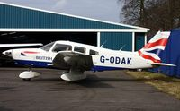 G-ODAK @ EGTB - Ex: N22328 > N386WT > OH-SMO > D-EXMA > G-ODAK - Originally owned to, Airways Aero Associations Ltd in February 2000 and currently with, Airways Aero Association Ltd since January 2004 - by Clive Glaister