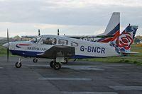 G-BNCR @ EGHH - British Airways Flying Club - by Howard J Curtis