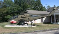 66-15249 - AH-1G Cobra in front of a VFW Hall in Croswell Michigan - by Florida Metal
