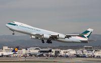 B-LJI @ KLAX - Boeing 747-400F - by Mark Pasqualino