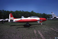 138048 @ BDL - TV-2 Shooting Star (re-designated T-33B in 1962) - ex USAF 53-5646 xferred to USN as TV-2 - by John Hevesi