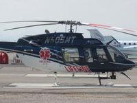 N505MT @ KTUS - LifeLine 2 at MedTrans hangar, Tucson AZ