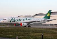 B-9928 @ LFBO - Waiting his delivery at Air France facility... - by Shunn311