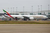 A6-ENC @ EGBB - Emirates 2012 Boeing 777-31H(ER), c/n: 41083 parked at Birmingham terminal