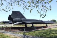 61-7960 - Lockheed SR-71A Blackbird at the Castle Air Museum, Atwater CA - by Ingo Warnecke