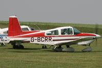 G-BCRR @ EGHA - Privately owned. - by Howard J Curtis