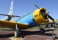 42-89678 - Vultee BT-13 Valiant at the Castle Air Museum, Atwater CA - by Ingo Warnecke