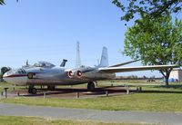 47-008 - North American B-45A Tornado at the Castle Air Museum, Atwater CA - by Ingo Warnecke