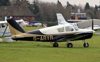 G-ARYR @ EGLD - Originally owned to, C.S.E. Aviation Ltd in July 1962 and currently a, Trustee of, G-ARYR Flying Group since October 1993. - by Clive Glaister