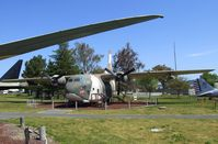 55-4512 - Fairchild C-123K Provider at the Castle Air Museum, Atwater CA - by Ingo Warnecke