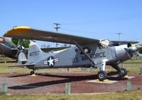 54-1707 - DeHavilland Canada DHC-2 / L-20 / U-6A Beaver at the Castle Air Museum, Atwater CA - by Ingo Warnecke