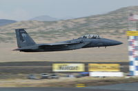 82-0044 @ RTS - F-15 Eagle crossing Reno Finish Line - by ssanderson