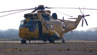 ZH541 @ EGFH - Visiting Sea King coded V of 22 Squadron RAF. - by Roger Winser