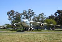 52-0166 - Boeing B-47E Stratojet - this plane in 1986, after having been restored by museum volunteers made the last flight ever of a B-47 from NAS China Lake to Castle AFB - at the Castle Air Museum, Atwater CA - by Ingo Warnecke