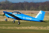 G-CGVD @ EGCB - RV12 flying group - by Chris Hall