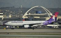 N381HA @ KLAX - Taxiing for departure at LAX