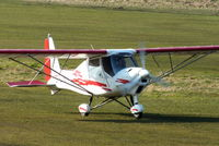 G-CEHV @ EGCB - Mainair Microlight School - by Chris Hall