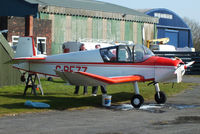 G-BEZZ @ EGCB - visitor to Barton - by Chris Hall