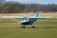 G-BXCU @ EGCB - visitor to Barton - by Chris Hall