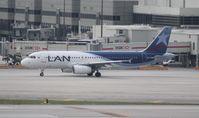 CC-CQM @ MIA - LAN (Colombia) A320 - by Florida Metal