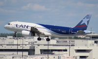 CC-CQO @ MIA - LAN Colombia A320