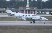 C-GMRM @ ORL - Beech Duke - by Florida Metal