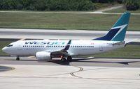 C-GMWJ @ TPA - West Jet 737