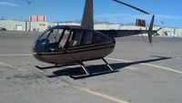 N881KE @ KVGT - Parked at North Las Vegas airport, the helicopter I did most of my early training in :)