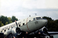 17171 @ MHZ - C-117D Super Dakota of the United States Naval Air Facility at RAF Mildenhall on display at the 1972 RAF Mildenhall Air Fete. - by Peter Nicholson