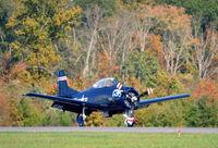 N281CM @ KCJR - Landing - Culpeper Air Fest 2012 - by Ronald Barker
