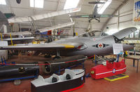 XK624 @ 0000 - Preserved at the Norfolk and Suffolk Aviation Museum, Flixton.