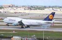D-ABVP @ MIA - Lufthansa 747-400