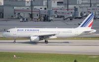 F-GKXC @ MIA - Air France A320