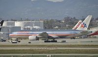 N782AN @ KLAX - Getting towed at LAX - by Todd Royer